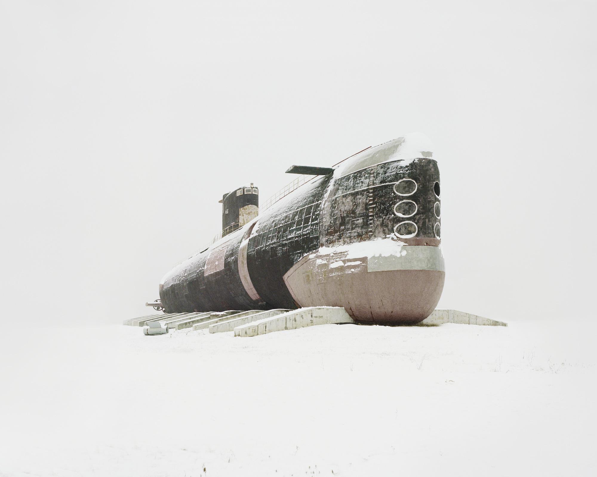 Dieselelektrisch betriebenes U-Boot, das größte jemals gebaute – Oblast Samara, 2013 / Fotos © Danila Tkachenko