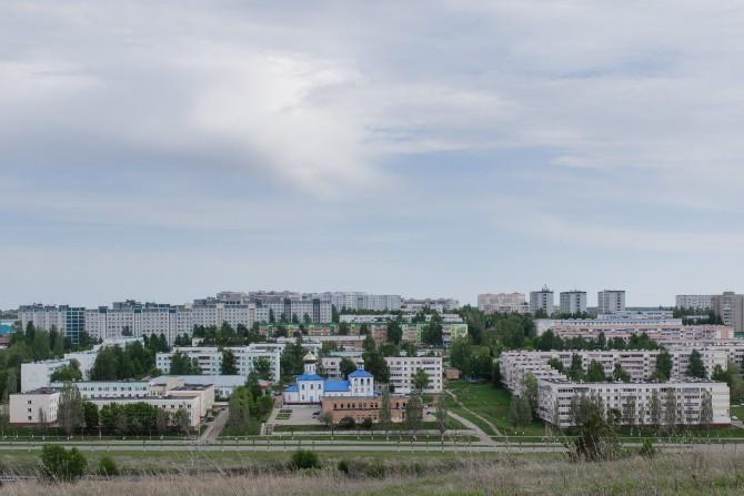 Für die Errichtung der Stadt wurde ein Dorf dem Erdboden gleichgemacht / Foto © Jewgenija Shulanowa
