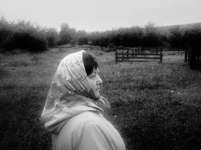 Lidija Slepez wurde in Tugatsch geboren, ihr Vater war aus Kasachstan hierher deportiert worden / Foto © Jewgenia Shulanowa