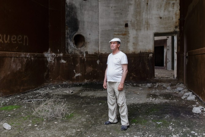 Viktor kam 1983 als Monteur in die Siedlung / Foto © Jewgenija Shulanowa
