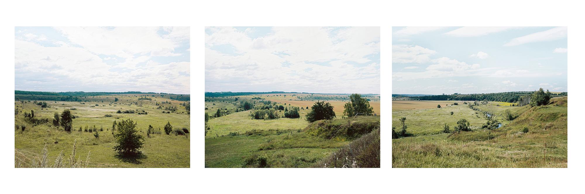 Blick auf Beshin Lug (Beshin-Wiese), von Norden