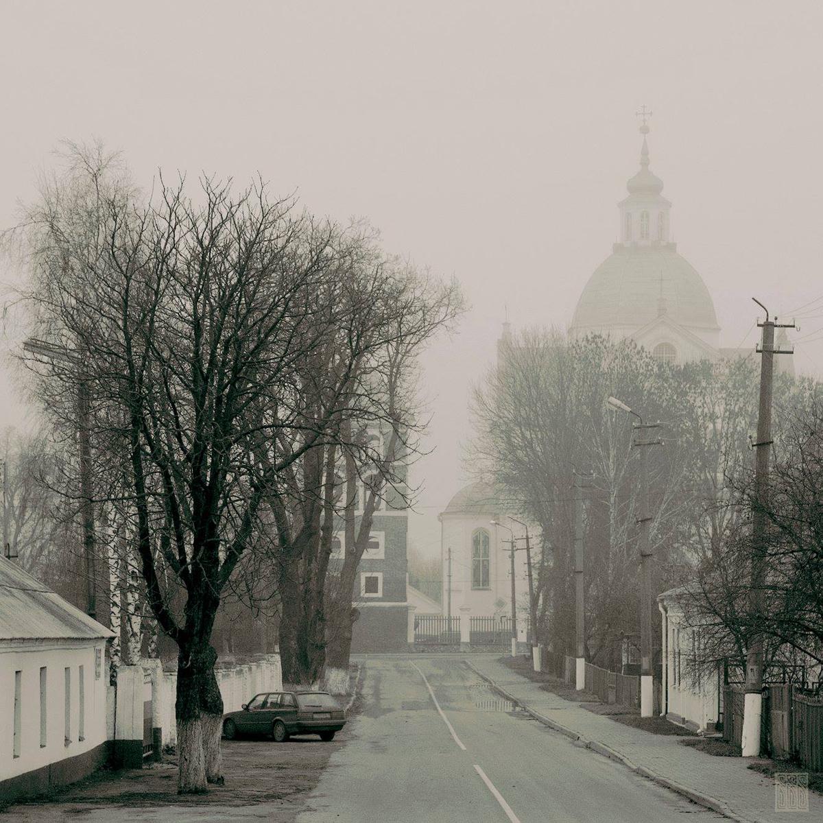 Njaswísh, Fronleichnamskirche aus dem 16. Jahrhundert, fotografiert im Jahr 2006 / Foto © Valery Vedrenko
