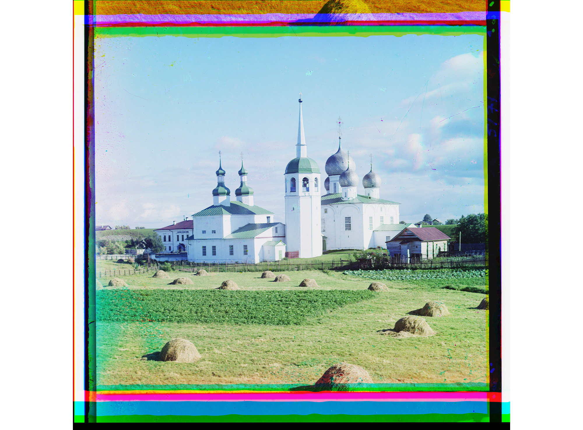 Preobrashenski Kirche, innerhalb der Kremlmauern, Belosersk, 1909