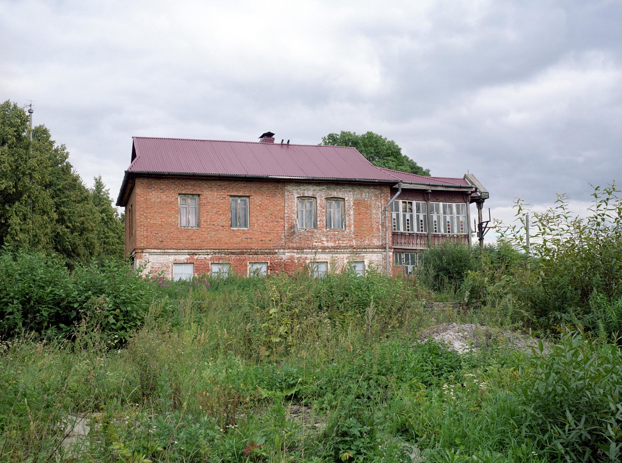 Im Dorf Beshin Lug, Haus des Generals (ehemalige Schule)