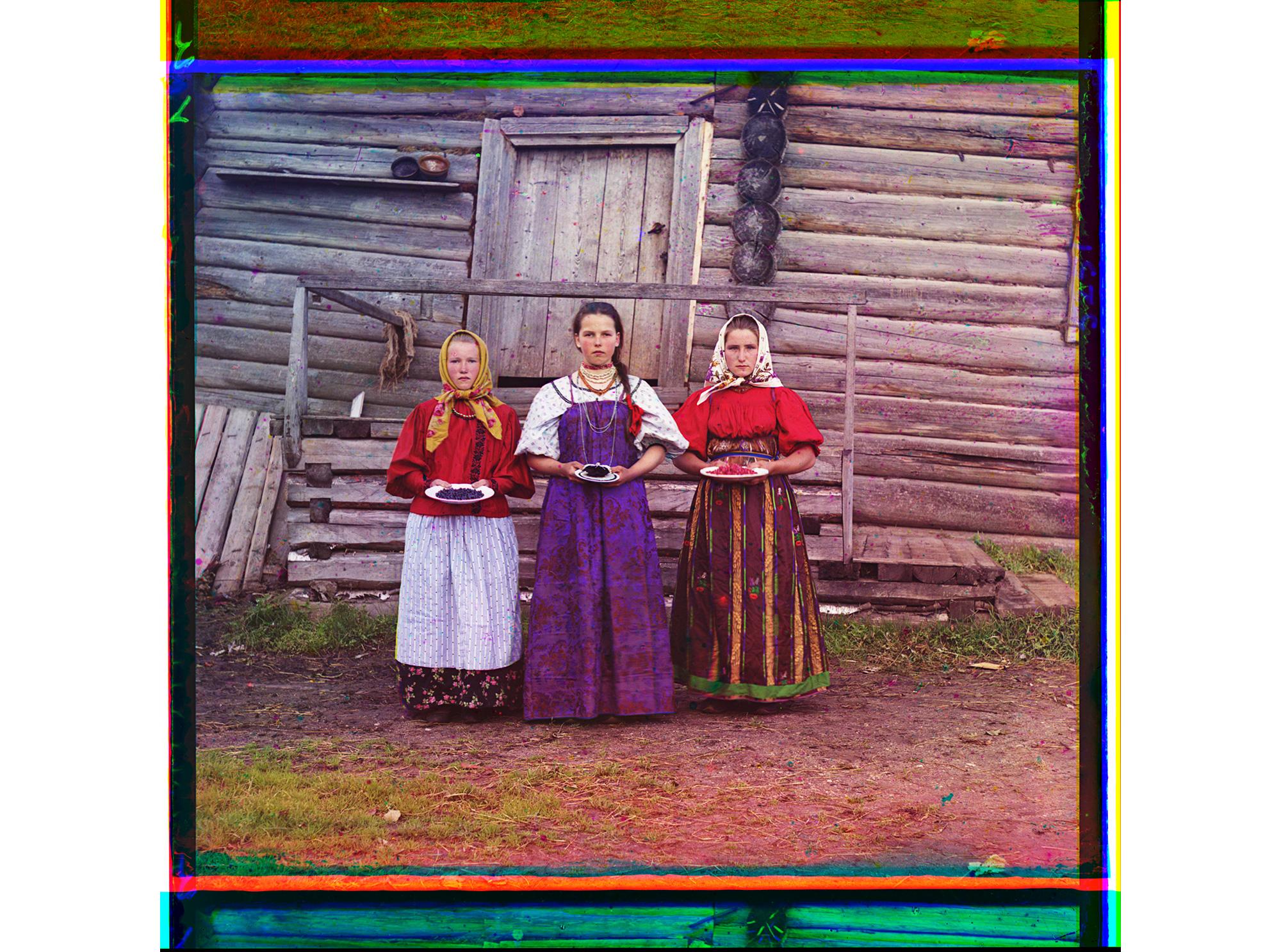 Bauernmädchen, 1909