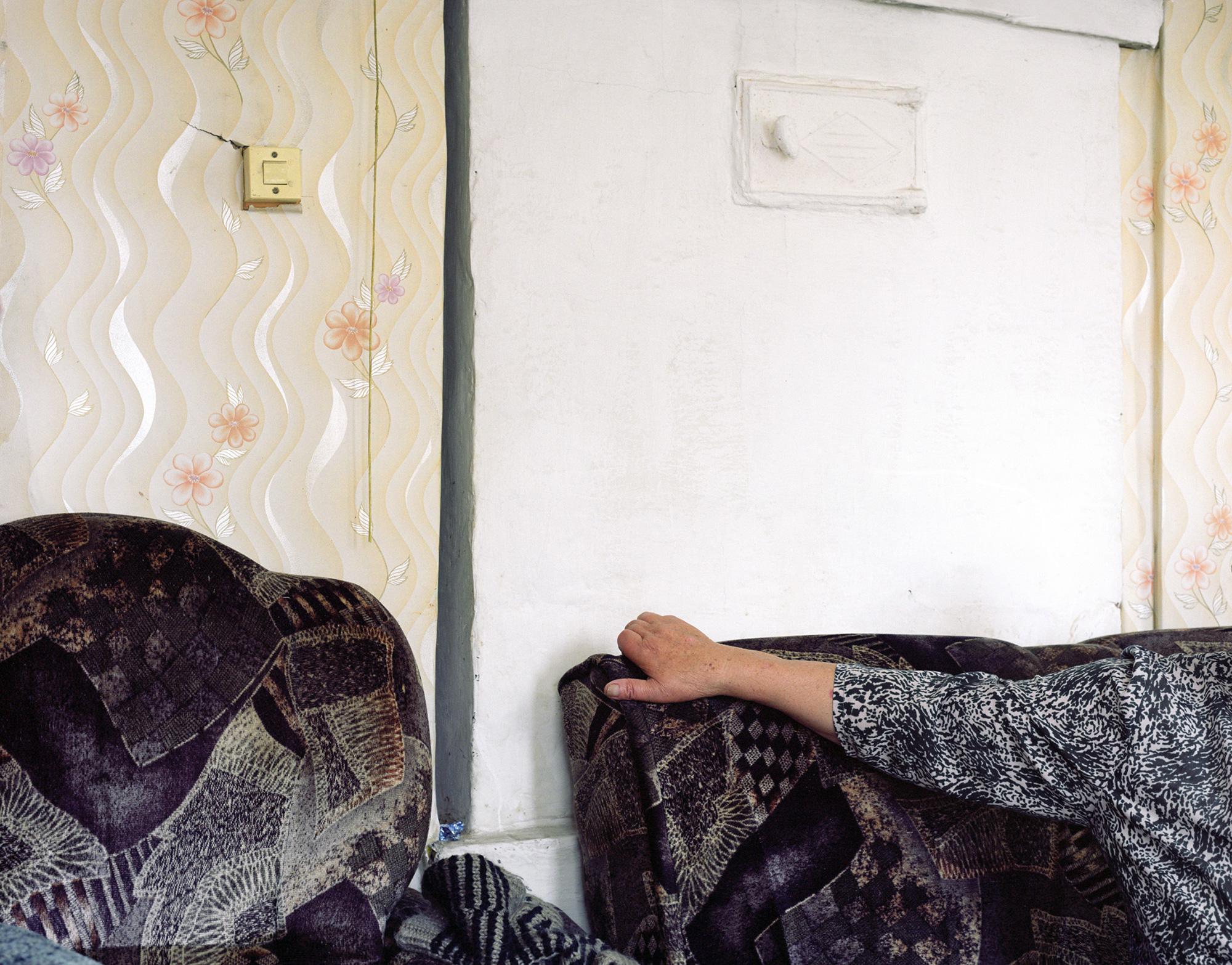 Valentina Fjodorowna Petrowa. Im Dorf Chotjash, Pooserje