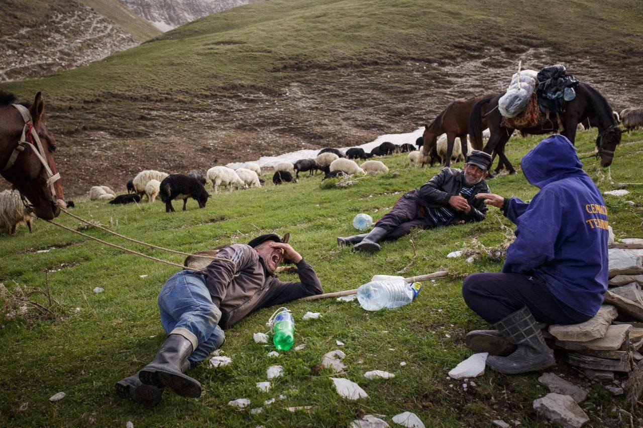 Ruhepause während des Auftriebs / Foto © Jewgenija Shulanowa