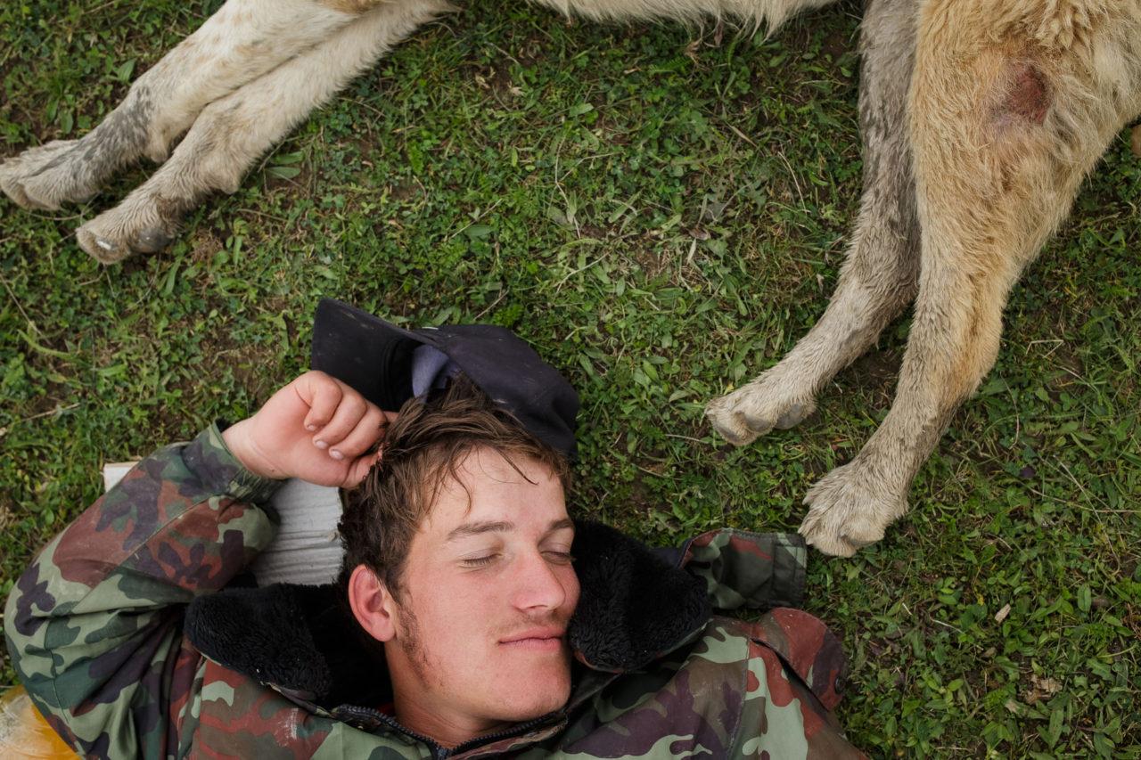 Changirej ruht sich aus / Foto © Jewgenija Shulanowa