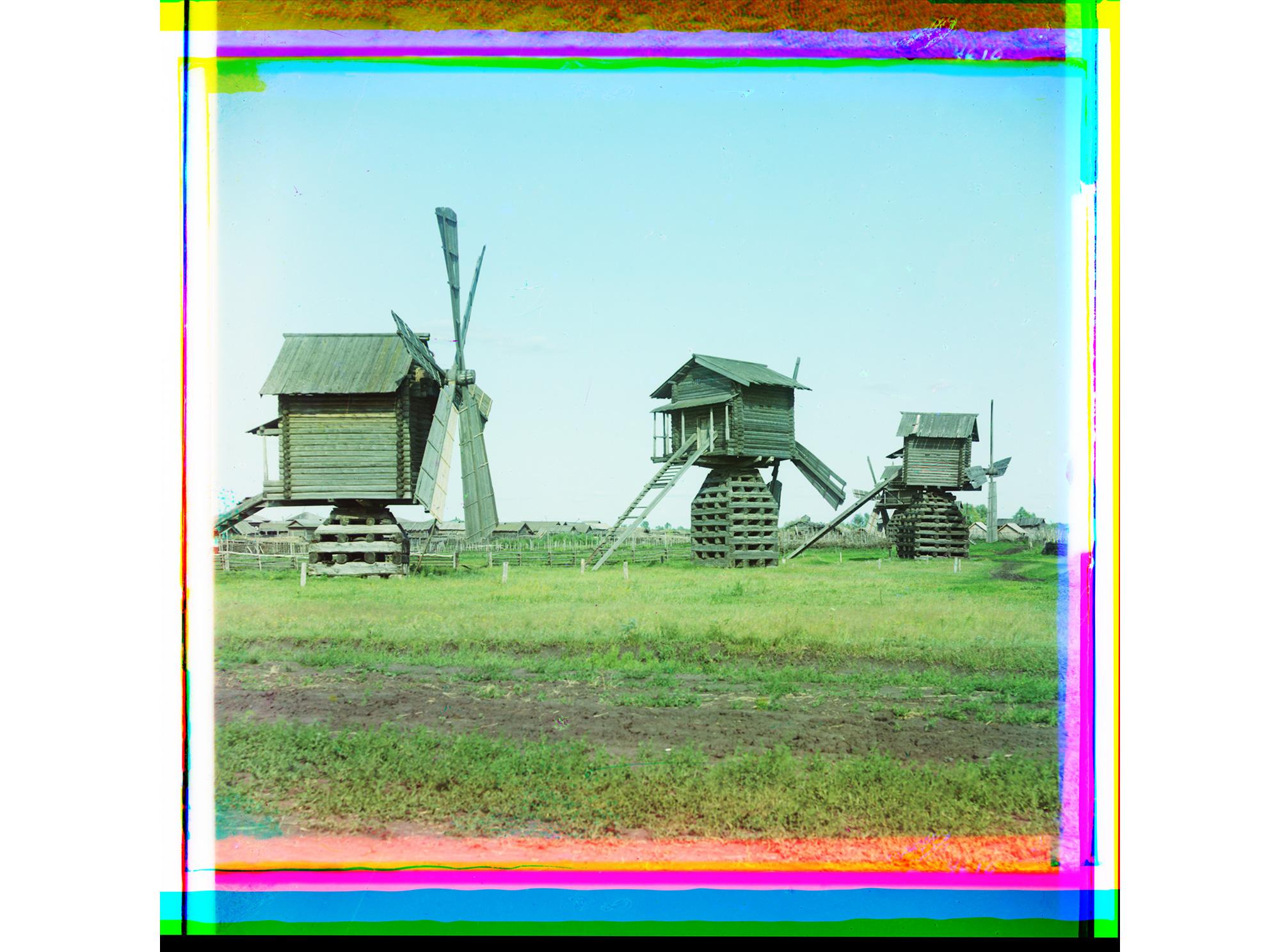 Mühlen im Bezirk Jalutorowsk im Gouvernement Tobolsk, 1912