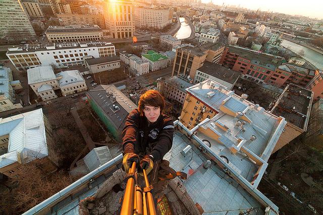 """""""Roofing ist keine schmale Subkultur mehr"""" – Foto © Max Frolov/Flickr unter CC BY 2.0"""