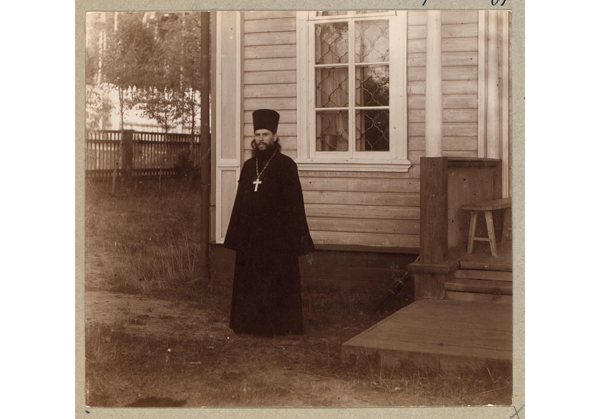 Igumen Xenofont, Vorsteher des Klosters in Werchoturje, 1910