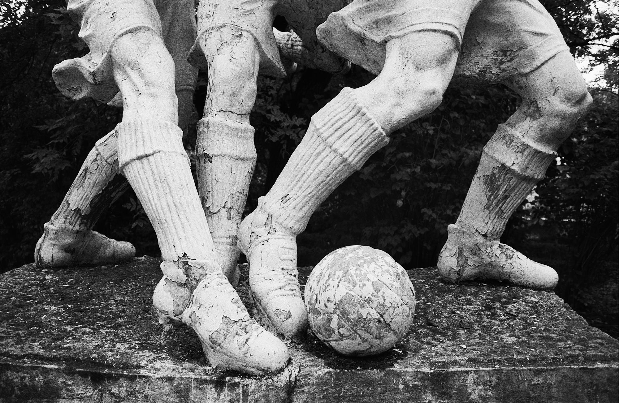 "Fußballspieler ""Spartak"" – ""Dinamo"", Shelesnowodsk, 1992 / Foto © Igor Mukhin"