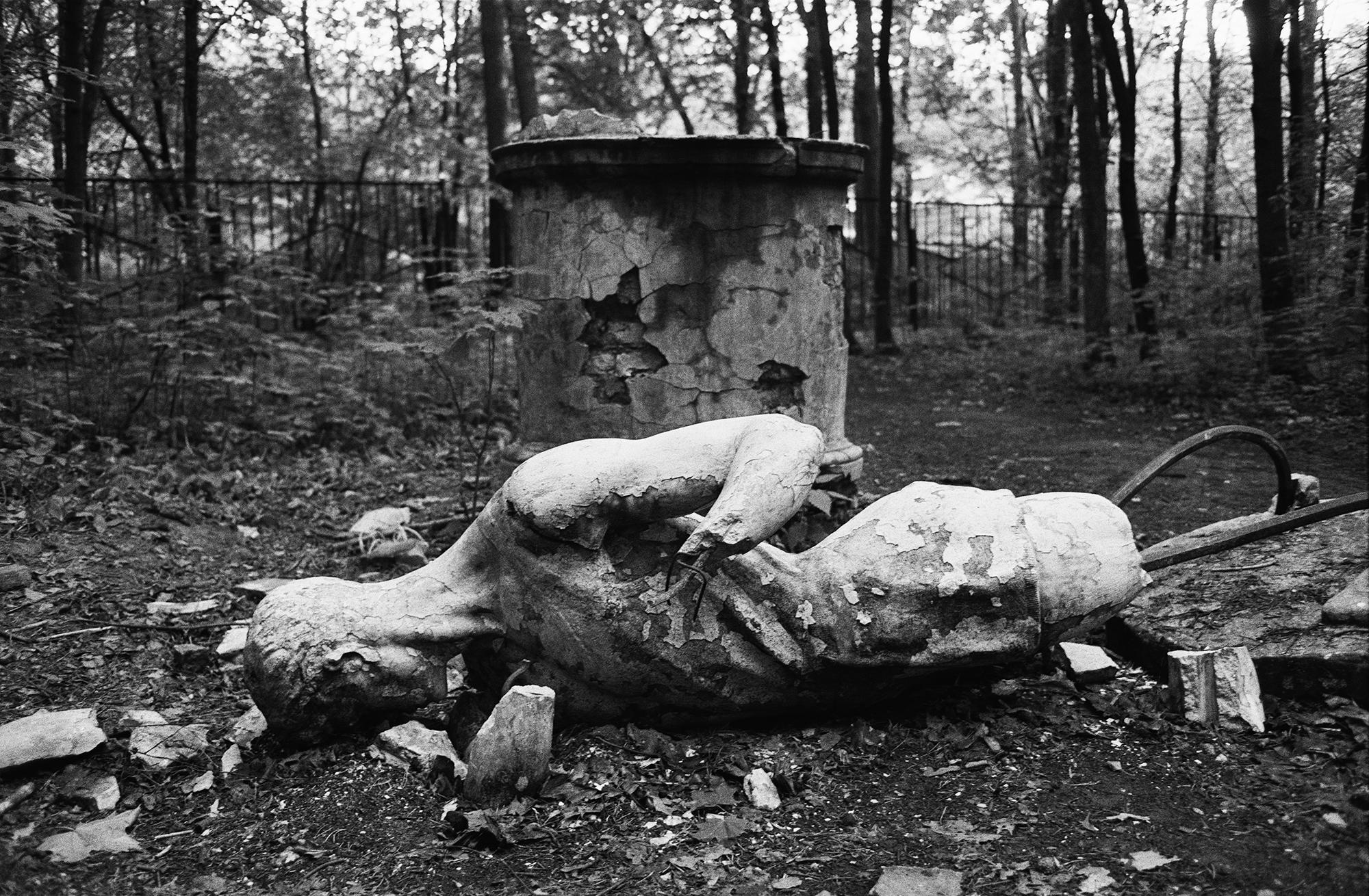 Park Pokrowskoje-Streschnewo, Moskau, 1993 / Foto © Igor Mukhin
