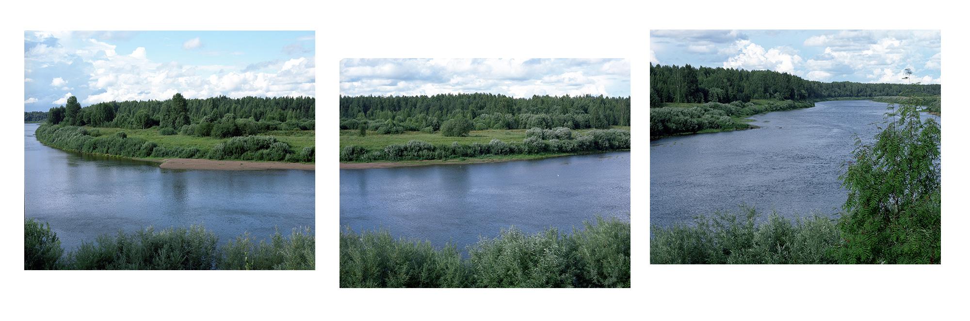 Beim Dorf Tschastowa, Fluss Msta