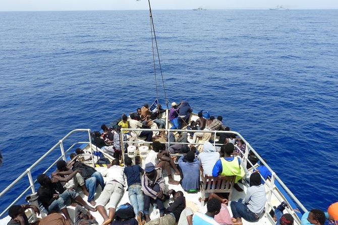 Ежегодно в Средиземном море тонут тысячи беженцев, находящихся на пути в Европу © Brainbitch/flickr.com