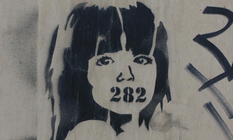 """282 – """"Artikel gegen Gedanken-Verbrechen""""? Foto © F Andrey (flickr)"""