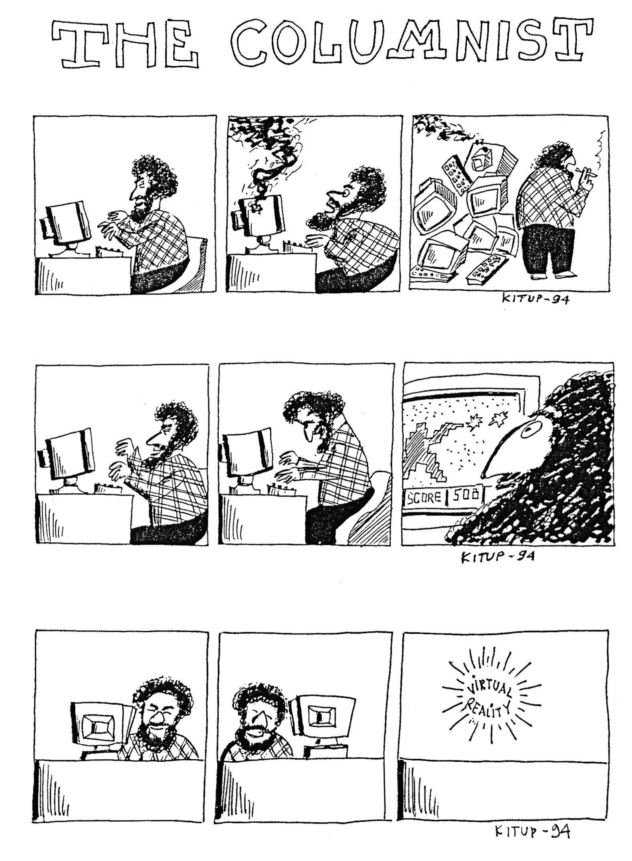 Eine eigenständige russische Comic-Industrie entwickelte sich jedoch nur schleppend. Kitups Own Propeller Comics © Ilja Kitup