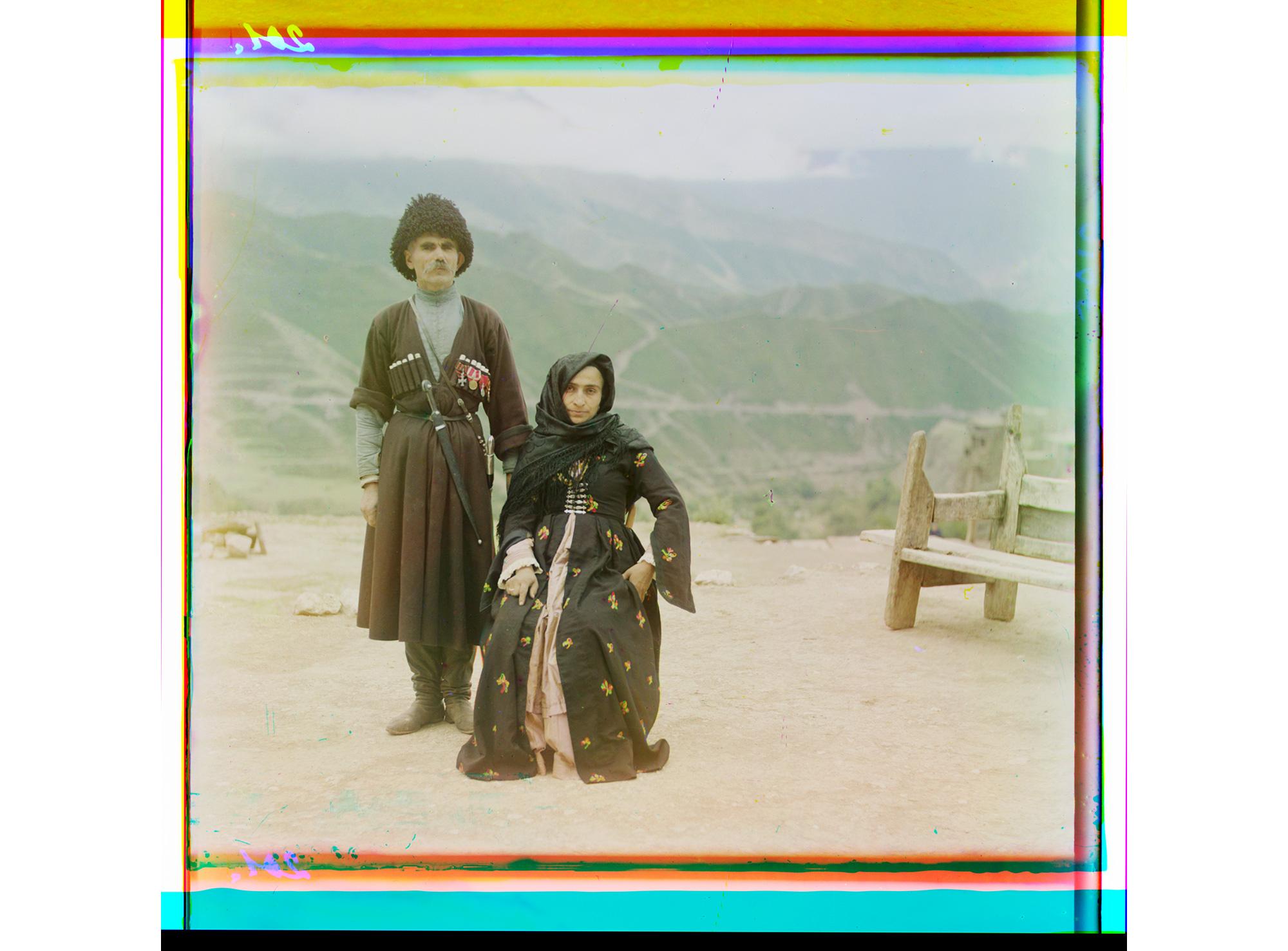 Menschen in Dagestan, zwischen 1905 und 1915