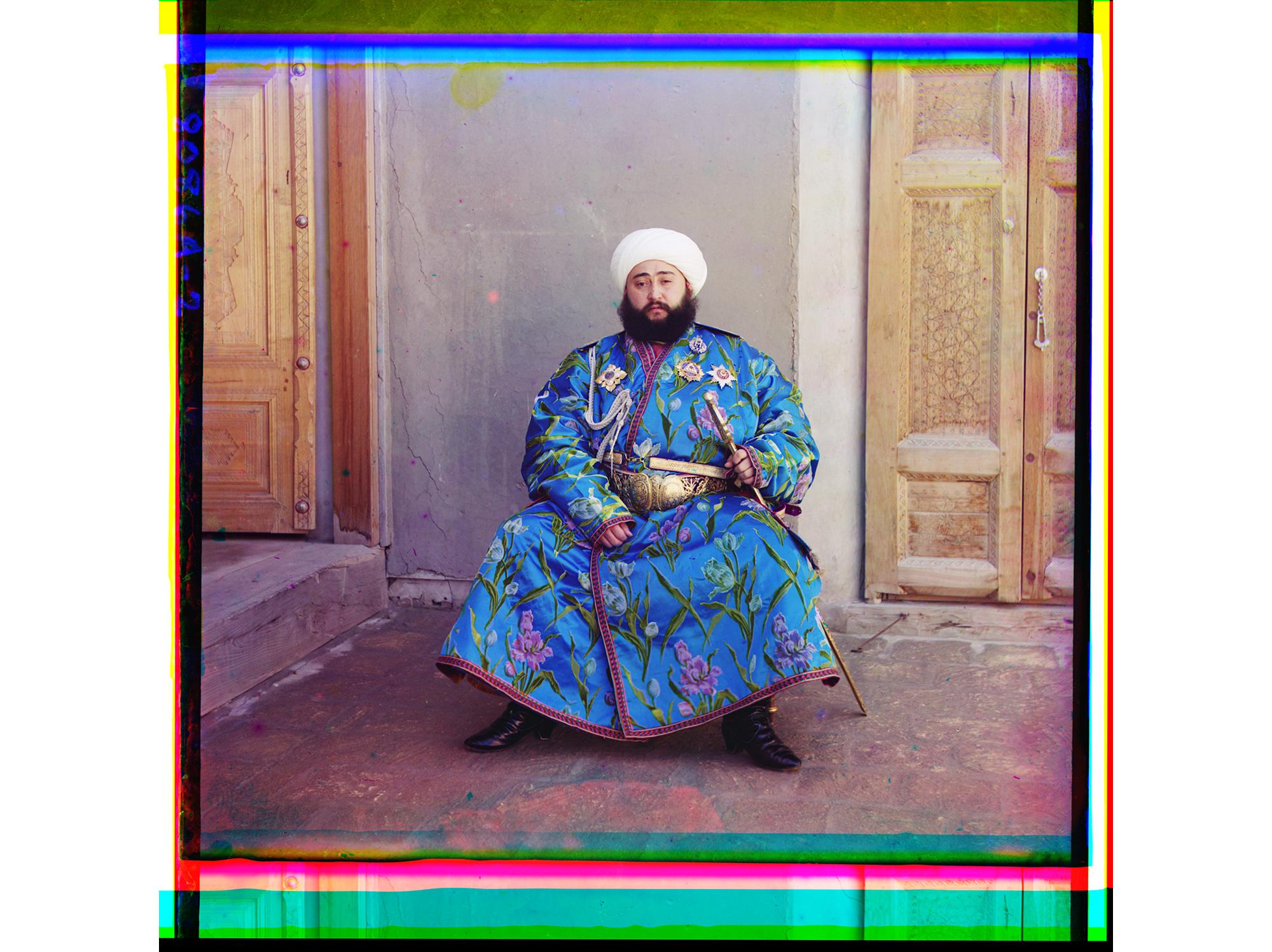 Der Emir von Buchara, zwischen 1905 und 1915