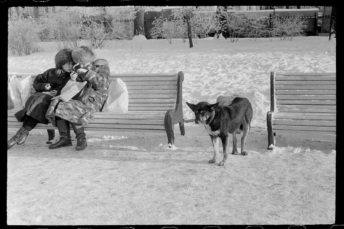 Aprilschnee,Leningrad, 1991 ©Mascha Iwaschinzowa