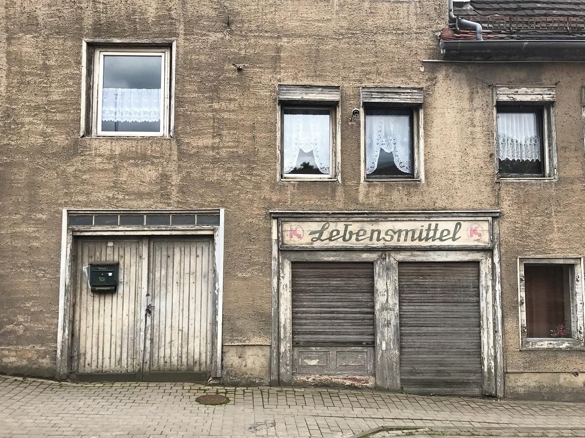 Бывший продуктовый магазин «Konsum» в Еккартсберге © Андреас Метц