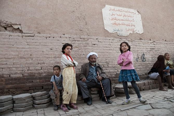 Uigurische Stadtteile in Kaxgar, September 2007. Eine Welt, die es so nicht mehr gibt / Foto © Konstantin Salomatin
