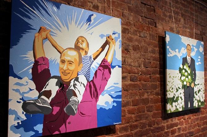 """Der """"imaginäre Putin"""" kann alles Mögliche sein. Vor allem ist er wohl fast unsterblich / Foto ©  Alexander Tschishenok/Kommersant"""