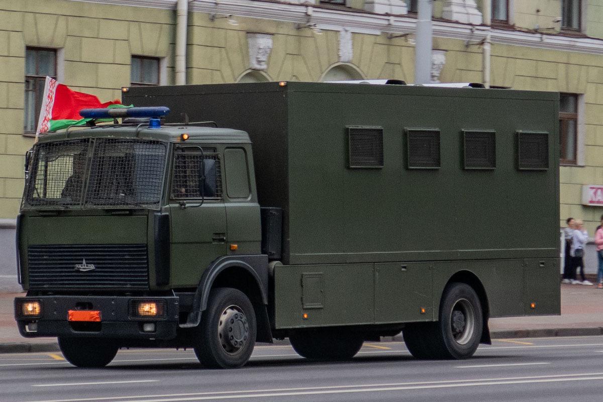 Der Awtosak (Gefangenentransporter) gilt als Inbegriff für staatliche Repressionen bei den Protesten in Belarus / Foto © Homoatrox/Wikimedia unter CC-BY SA 3.0