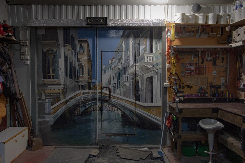 Garage als Raum für Kreativität / Foto© Oksana Ozgur
