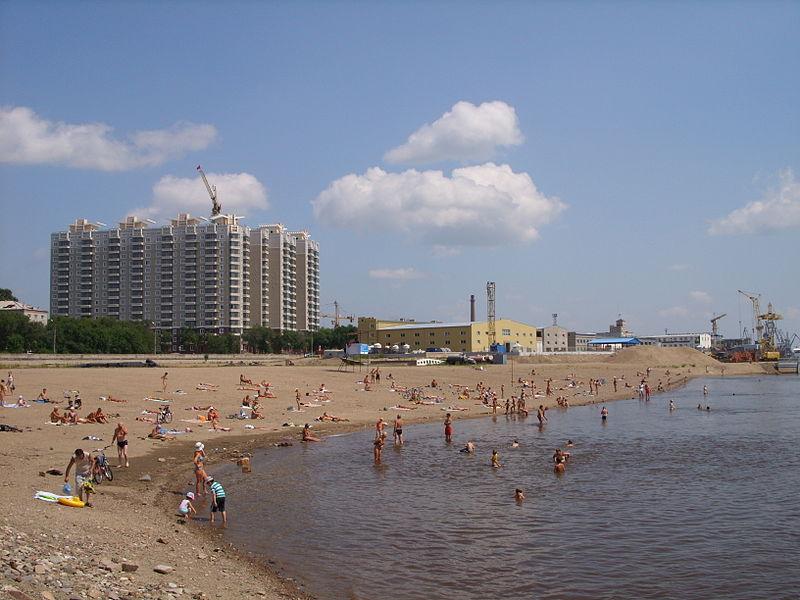 Blagoweschtschensk – größte Stadt und Verwaltungssitz der Oblast Amur / Foto © Wikipedia unter CC BY-SA 4.0