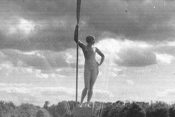 Девушка в Парке Горького © Wikimedia