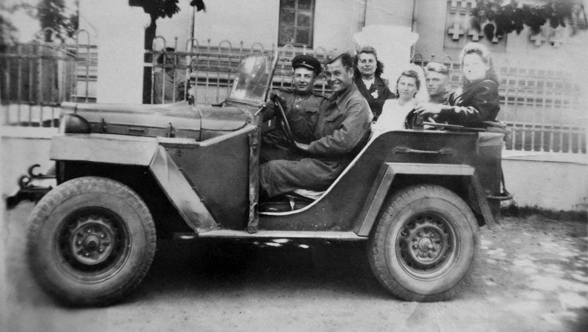 1950–1960, Brest. Aus dem Archiv von Alieh Pališčuk