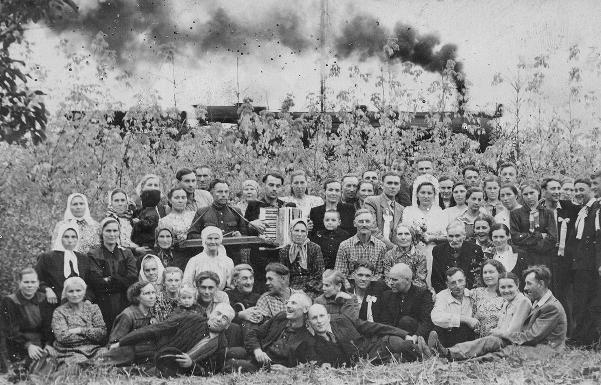 1957–1958 Smorgonski Rajon, Oblast Hrodna. Archiv von  Siarhiej Lieskieć