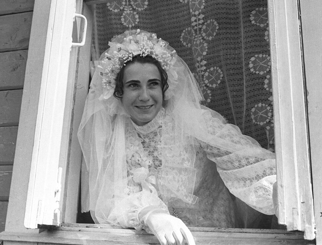 1965–1985, Dsjarschynsk, Oblast Minsk. Foto von Ivan Šabalinski. Aus dem Archiv von Hienadź Dubatoŭka