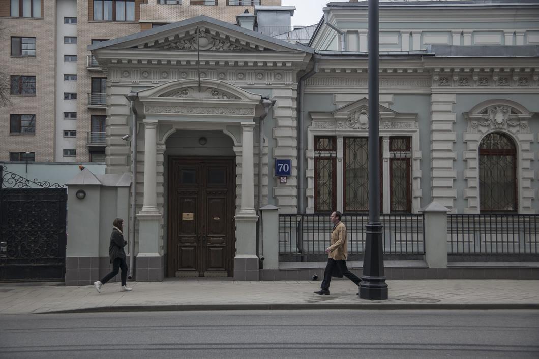 Die Stiftung für Sozial- und Kulturinitiativen (FSKI) im Zentrum Moskaus. Foto © Wlad Dokschin/Novaya Gazeta
