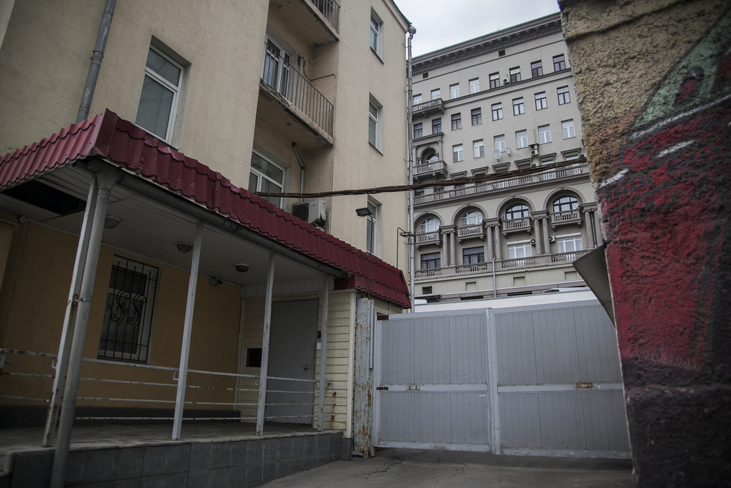 Von außen deutet nichts darauf hin, dass hier die Stiftung Gradislawa ansässig ist. Foto © Wlad Dokschin/Novaya Gazeta