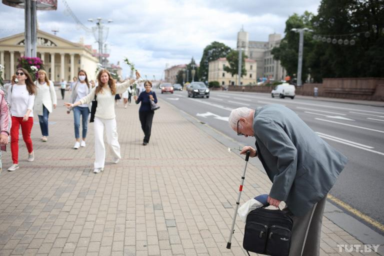 Die Sichtbarkeit von Frauen im öffentlichen Raum ist für die Gesellschaft als Ganzes wichtig / Foto © Wadim Samirowski/tut.by