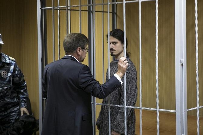 Iwan Podkopajew bleibt bis zum 27. September in Untersuchungshaft / Foto © Wlad Dokschin/Novaya Gazeta