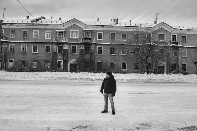 Jan 2018 in seiner Heimatstadt Beresniki / Foto © Stanislaw Dolshnizki