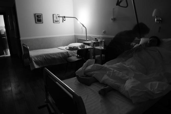 Die ersten Stunden nach der OP / Foto © Stanislaw Dolshnizki