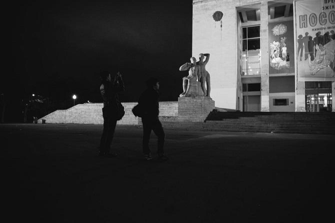 Jan und Dascha in Sankt Petersburg, Frühling 2016 / Foto © Stanislaw Dolshnizki