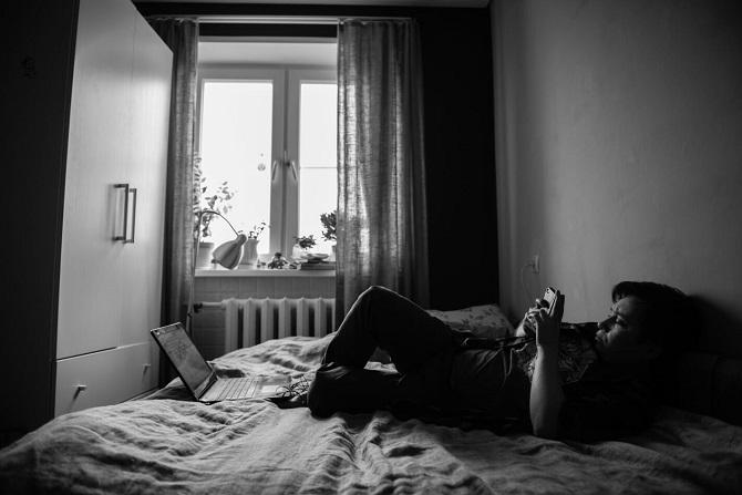 Jan im Herbst 2017, bis zur OP bleiben nur noch wenige Tage / Foto  © Stanislaw Dolshnizki