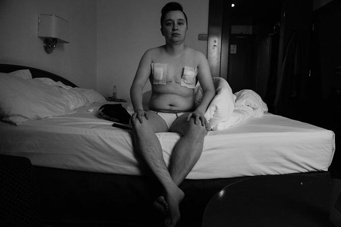 """""""Der Sinn der Transition besteht darin, Harmonie mit sich selbst und der Sozialisierung in der entsprechenden Genderrolle zu erlangen."""" / Foto © Stanislaw Dolshnizki"""