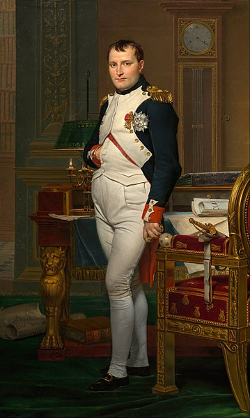 Napoleon / Jacques Louis David, 1812