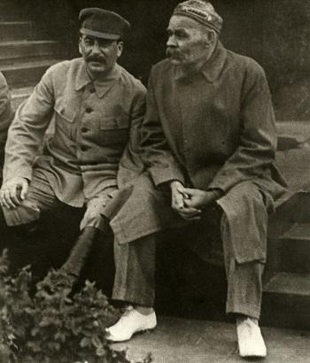 Stalin vereinnahmte Gorki für seine politischen Ziele