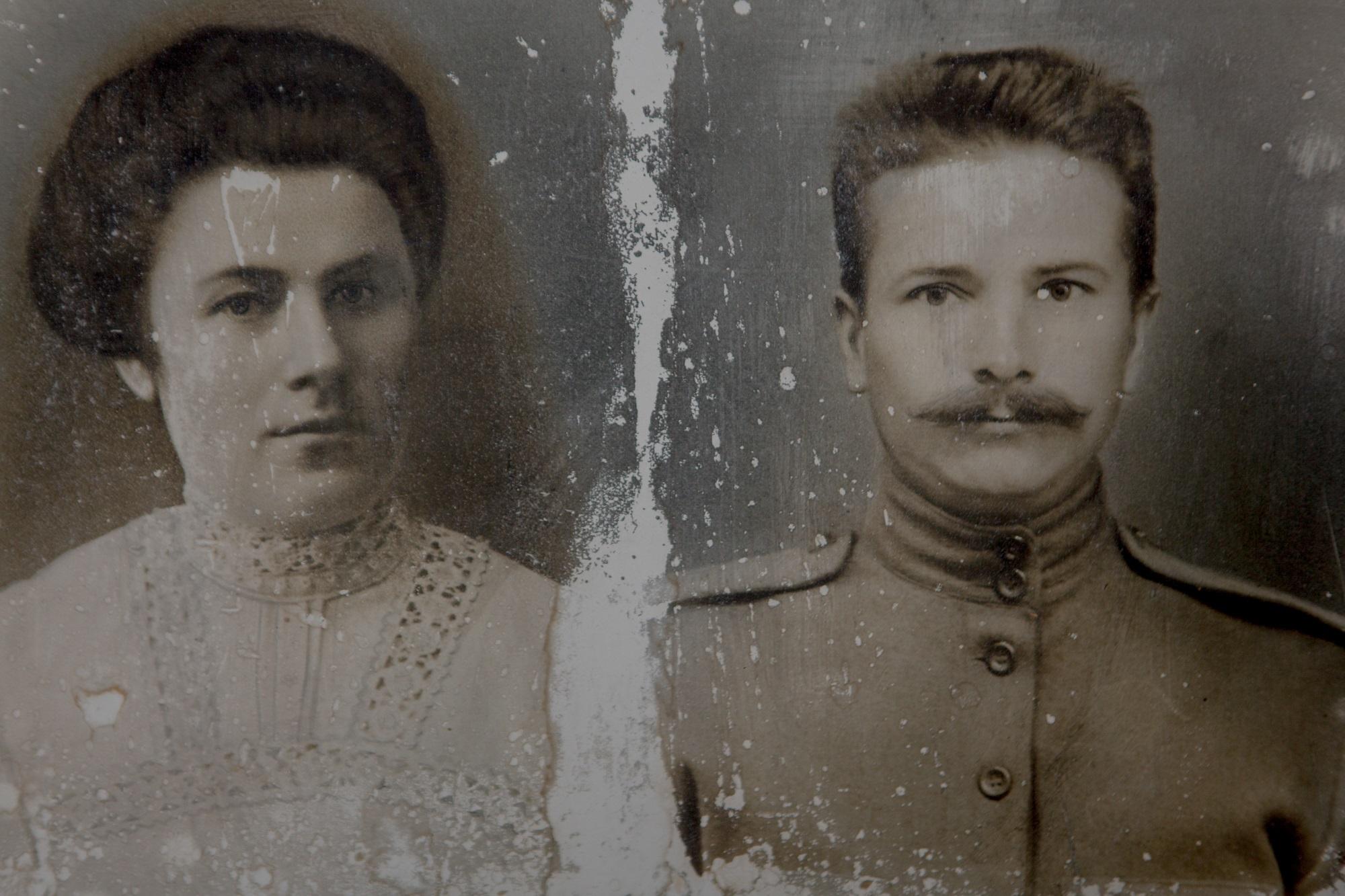 Die Großeltern Alexandra Alexejewnas / Foto © Anna Ivantsova