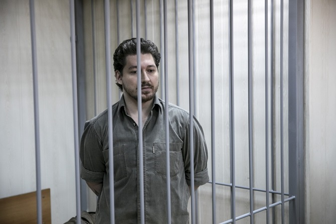 Kirill Shukow war in der Vergangenheit selbst Angehöriger der russischen Nationalgarde, er wies alle Anschuldigungen zurück / Foto © Wlad Dokschin/Novaya Gazeta