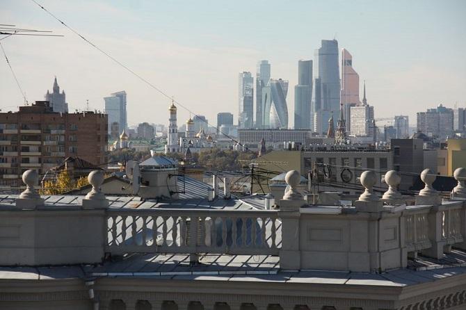 Moskau mit den Wolkenkratzern von Moskwa-City im Hintergrund / Fotos: Michail Drabkin