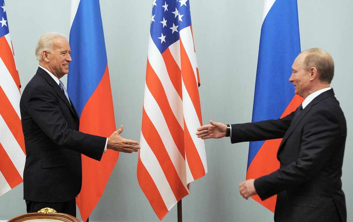 Ein Schritt vor, ein Schritt zurück – der Biden-Putin-Tango / Foto © Dimitri Asarow/Kommersant