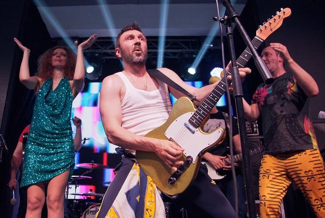 Programm gegen verweichlichten Pop – die Band Leningrad – Foto © Irina Bushor/Kommersant